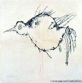 叶永青的作品《鸟》