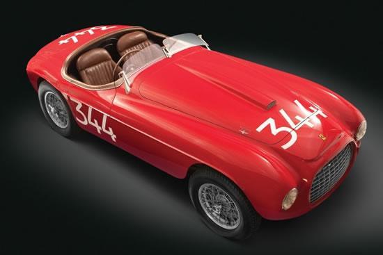 1949年款法拉利跑车将被拍卖